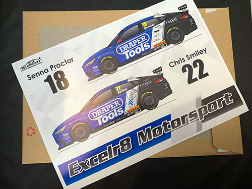 Excelr8 Motorsport 2020 Poster