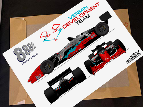 Triple Eight Vermin Development Racing Poster
