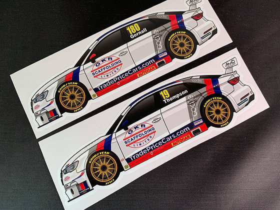 MB Motorsport 2020 Sticker Set