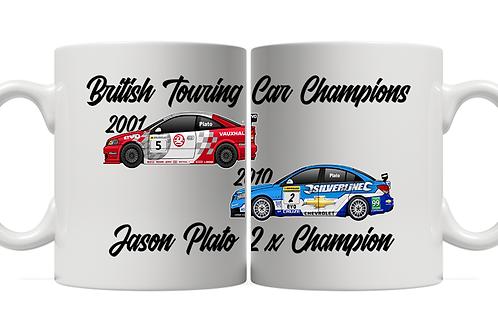 Jason Plato 2 x Champion 11oz Mug