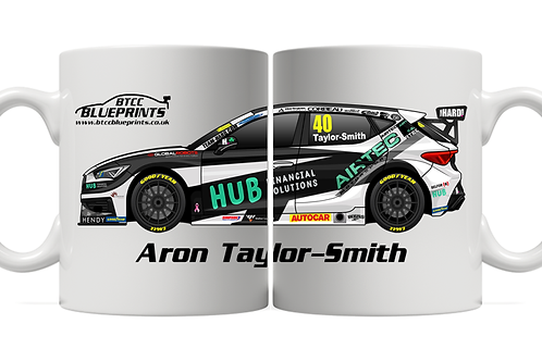 Árón Taylor-Smith 2021   Team HARD   11oz Mug
