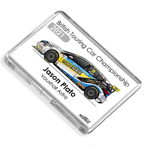 Jason Plato 2021 | Power Maxed Racing | Magnet