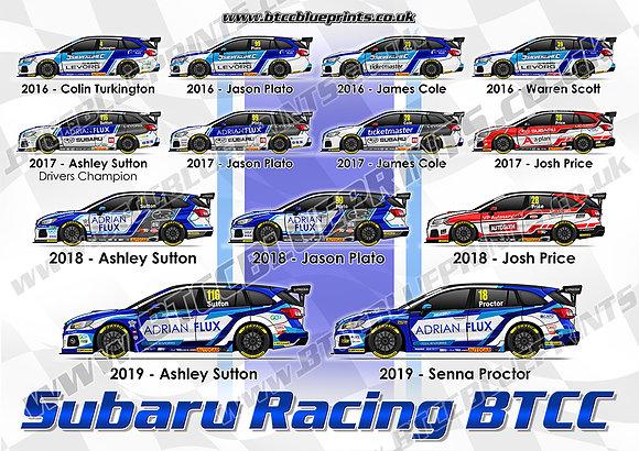 Subaru Racing 2016 - 2019 Poster