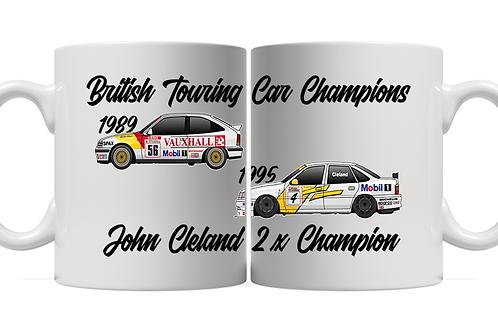 John Cleland 2 x Champion 11oz Mug