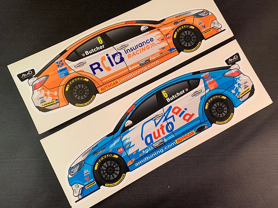 Rory Butcher 2018 Stickers