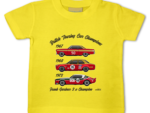Frank Gardner 3 x Champion | Baby/Toddler | Short Sleeve T-shirt