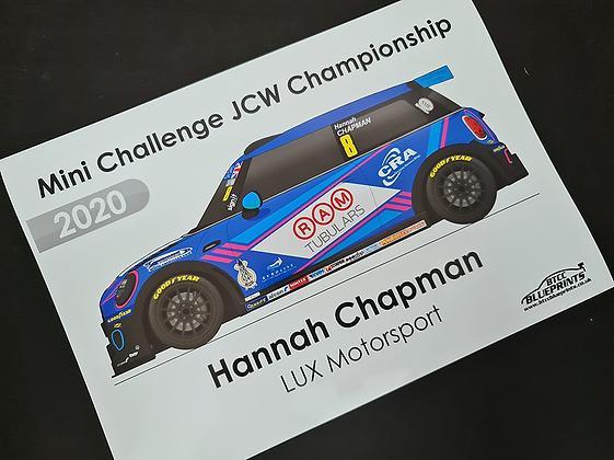 Hannah Chapman 2020 Poster