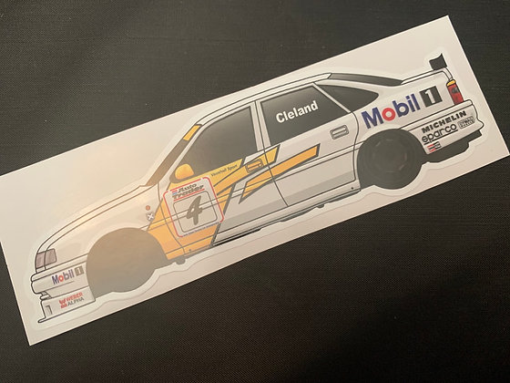 John Cleland 1995 Champion Sticker