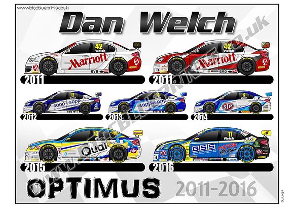 Dan Welch Optimus 2011-2016