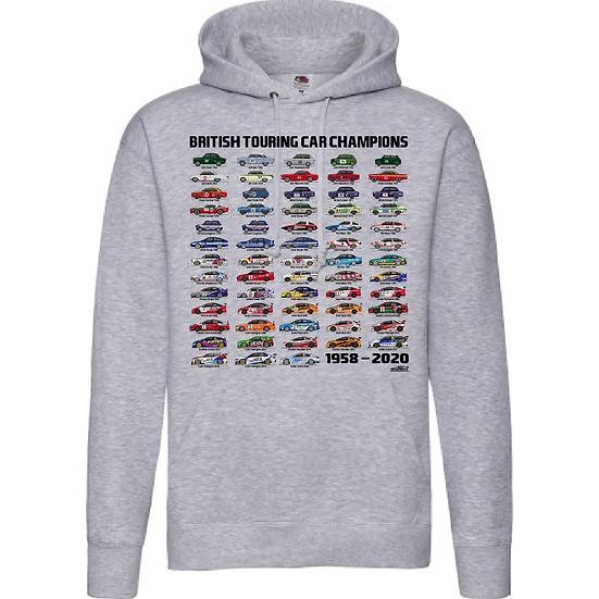 1958-2020 British Touring Car Champions Sweatshirt