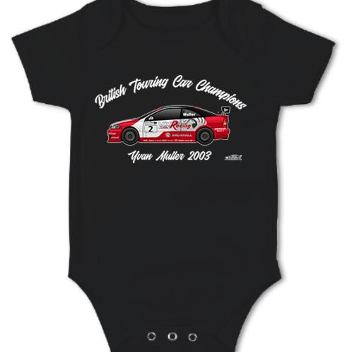 Yvan Muller 2003 Champion | Baby Grow