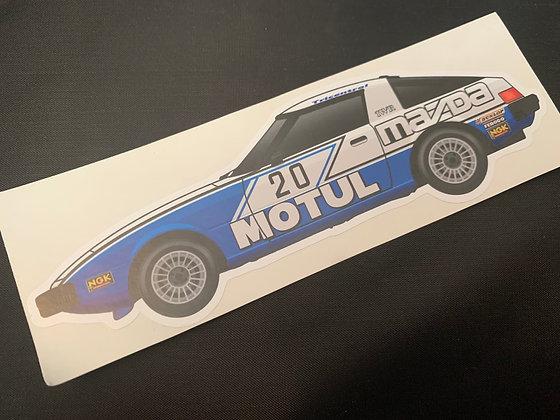 Win Percy 1981 Champion Sticker