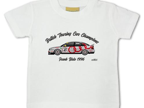 Frank Biela 1996 Champion   Baby/Toddler   Short Sleeve T-shirt