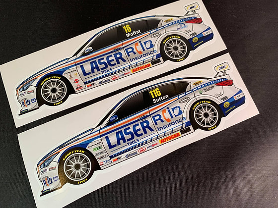 Laser Tools Racing 2020 Sticker Set