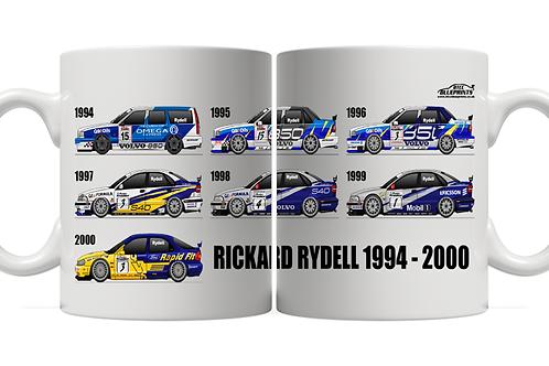 Rickard Rydell Career 1994 - 2000 11oz Mug
