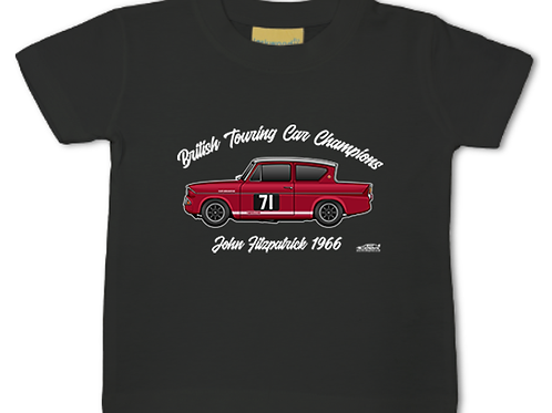 John Fitzpatrick 1966 Champion | Baby/Toddler | Short Sleeve T-shirt
