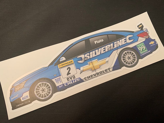 Jason Plato 2010 Champion Sticker