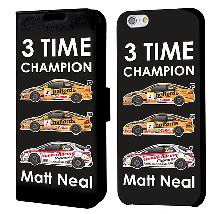 3 Time Champions Phone Case