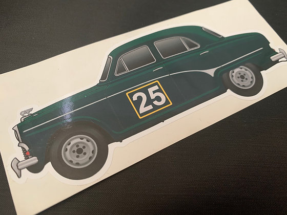 Jack Sears 1958 Champion Sticker