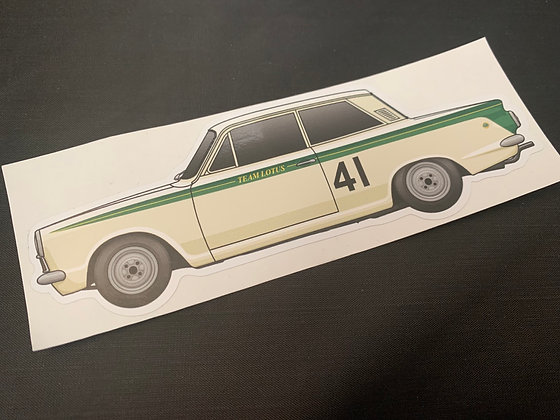 Jim Clark 1964 Champion Sticker