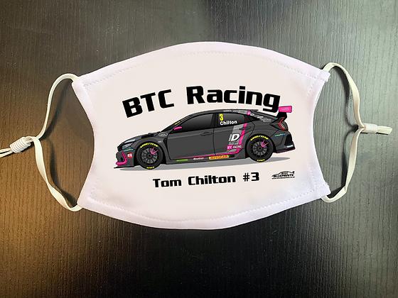 2020 Tom Chilton Face Mask