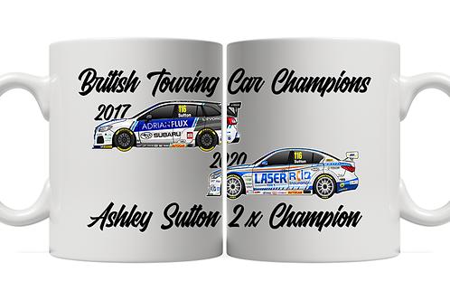 Ashley Sutton 2 x Champion 11oz Mug