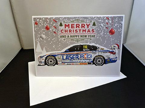 2020 BTCC Driver Christmas Cards
