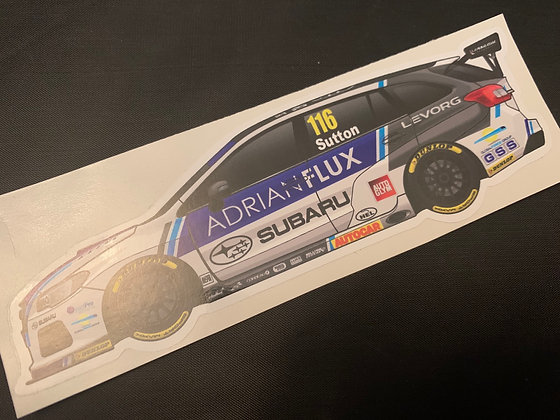 Ashley Sutton 2017 Champion Sticker