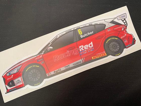 Rory Butcher 2020 Sticker
