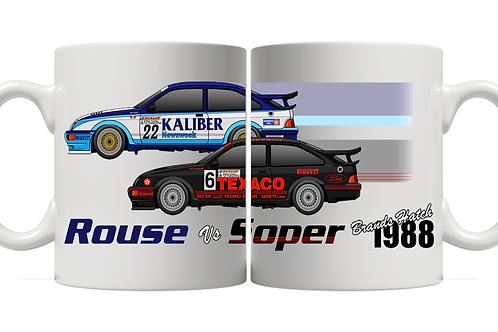 Soper vs Rouse | 1988 | Brands Hatch | 11oz Mug