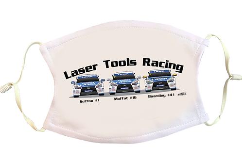 Laser Tools Racing 2021   Face Mask