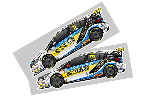 Power Maxed Racing 2021 Sticker