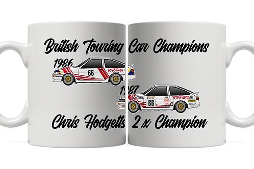 Chris Hodgetts 2 x Champion 11oz Mug