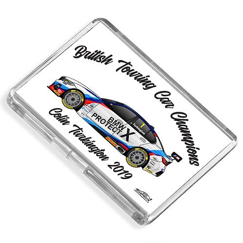 Colin Turkington 2019 Champion Magnet