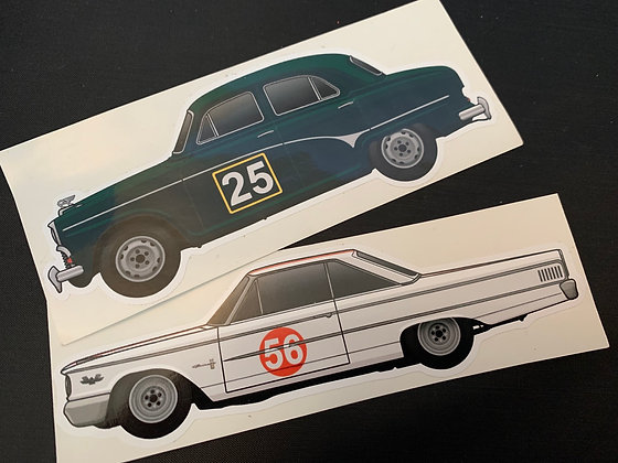Jack Sears Champion Sticker Set