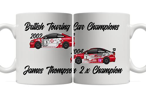 James Thompson 2 x Champion 11oz Mug