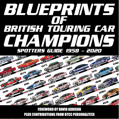 Blueprints of British Touring Car Champions Book