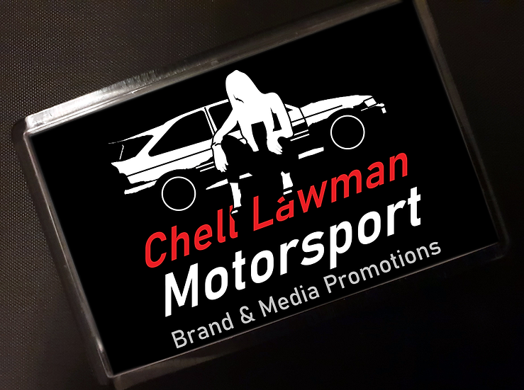 Chell Lawman Motorsport Magnet