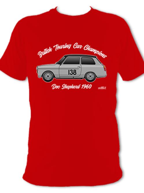 Doc Shepherd 1960 Champion   Adult Unisex   Short Sleeve T-Shirt