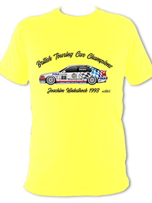Joachim Winkelhock 1993 Champion | Adult Unisex | Short Sleeve T-Shirt