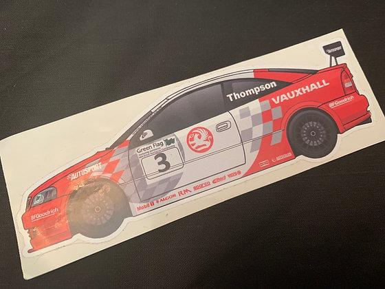 James Thompson 2002 Champion Sticker