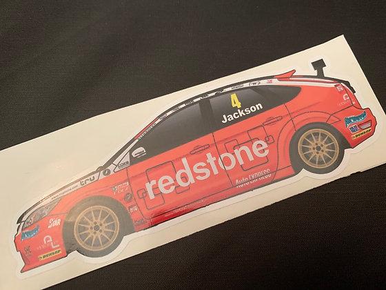 Mat Jackson 2012 Sticker