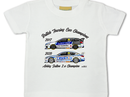 Ashley Sutton 2 x Champion | Baby/Toddler | Short Sleeve T-shirt
