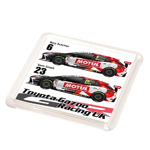 Toyota Gazoo Racing UK 2021 Coaster
