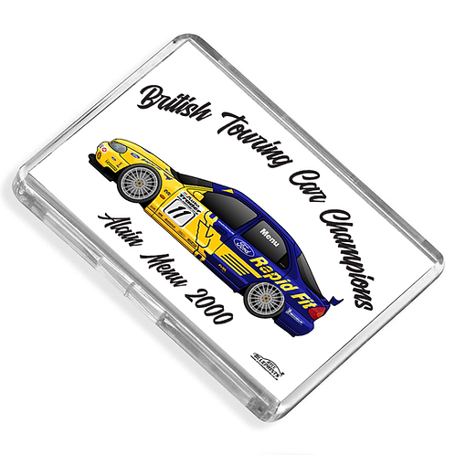 Alain Menu 2000 Champion Magnet