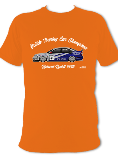 Rickard Rydell 1998 Champion | Adult Unisex | Short Sleeve T-Shirt