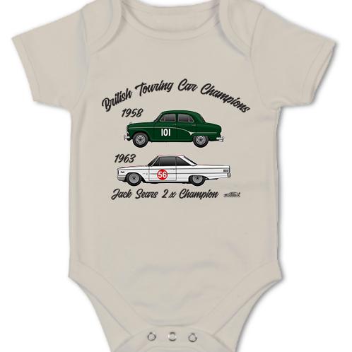 Jack Sears 2 x Champion | Baby Grow