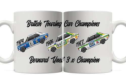 Bernard Unett 3 x Champion 11oz Mug