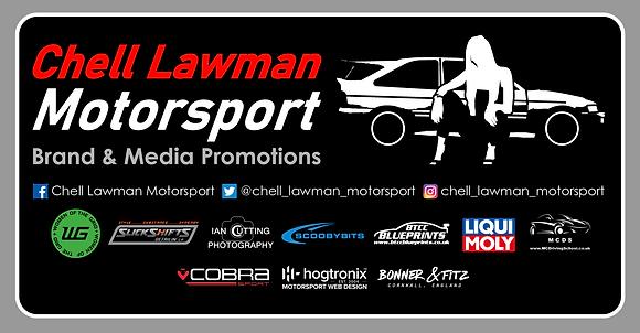 Chell Lawman Motorsport Sticker