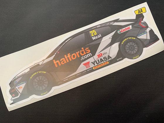 Matt Neal 2020 Sticker